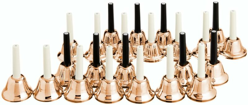 KC Music Bell Handbell 23 sound set MB-23K / C Copper MB-23K/C