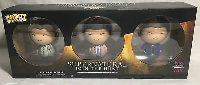 FUNKO DORBZ SUPERNATURAL 3 PACK SAM DEAN & CASTIEL / HMV EXCLUSIVE (HMV-4005) (Sam Dean)