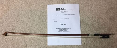 Gorgeous 4/4 CELLO BOW Pernambuco Cello Germany Richter Mother of Pearl
