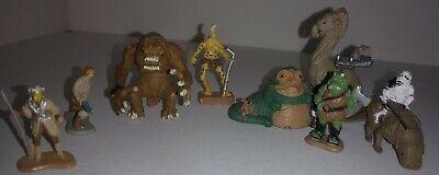 Micro Machines Star Wars Miniature Figure Lot - Rancor Jabba Gomorrean Guard