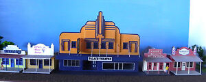 HO scale building Palace Theatre