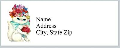 Personalized Address Labels Cute Little Cat Buy 3 Get 1 Free Bx 959