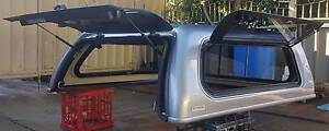 NEAR NEW GENUINE TOYOTA HILUX SR SR5 DUAL CAB CANOPY SKY SILVER Yagoona Bankstown Area Preview