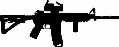 AR-15 Rifle Gun Vinyl Decal Oracal High Quality Vinyl Armory Laptop Tool Box (Suv Tool Boxes)