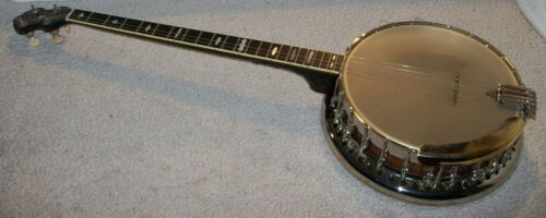 1920s Bacon and Day Silver Bell No 2 Plectrum banjo