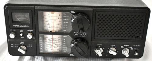 Nice Working Realistic DX-200 5-Band Shortwave Ham? Radio Communication Receiver