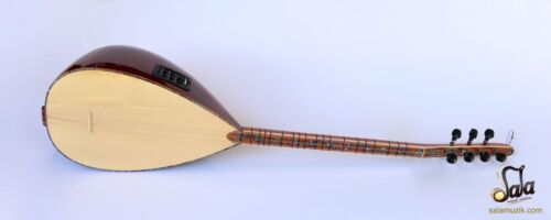 CONCERT QUALITY SHORT NECK JUNIPER BAGLAMA SAZ WITH EQUALIZER EQ SSK-305EQ