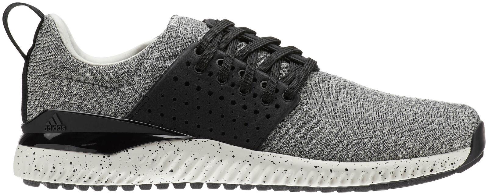 Adidas Adicross Bounce Golf Shoes BB7814 Raw White/Black Men's New - Choose Size