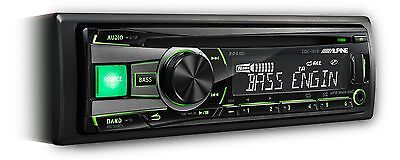 Alpine CDE-181R Car CD Player with MP3 USB with iPod Control Front...