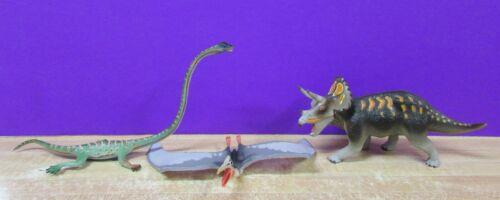 Safari Ltd Carnegie Collection Triceratops Quetzalcoatlus Tanystropheus