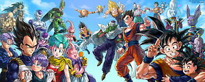 174 Dragon Ball Z - 2015 Goku Fighting Hot Japan Anime 35