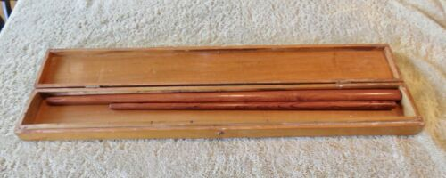 PAIR SWAGGER STICKS WITH PRESENTATION BOX- BA XUYEN PROVINCE VIETNAM CONFLICT