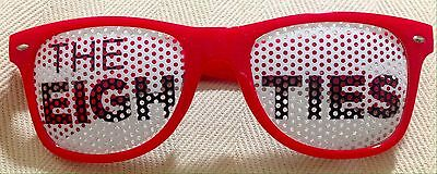 NWOT CNN Series The Eighties Novelty Sunglasses Red Plastic 52 22 150