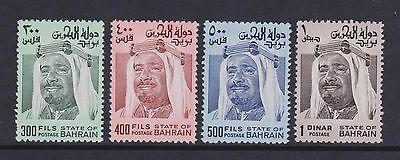 Bahrain - SG 241/4 - u/m - 1976 300f - 1d (4 stamps) short set