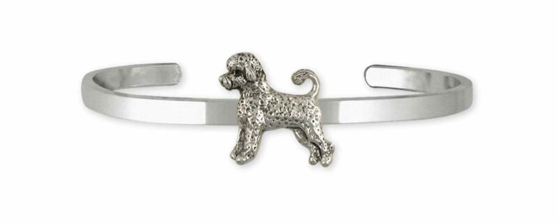 Portuguese Water Dog Jewelry Sterling Silver Handmade Portuguese Water Dog Brace