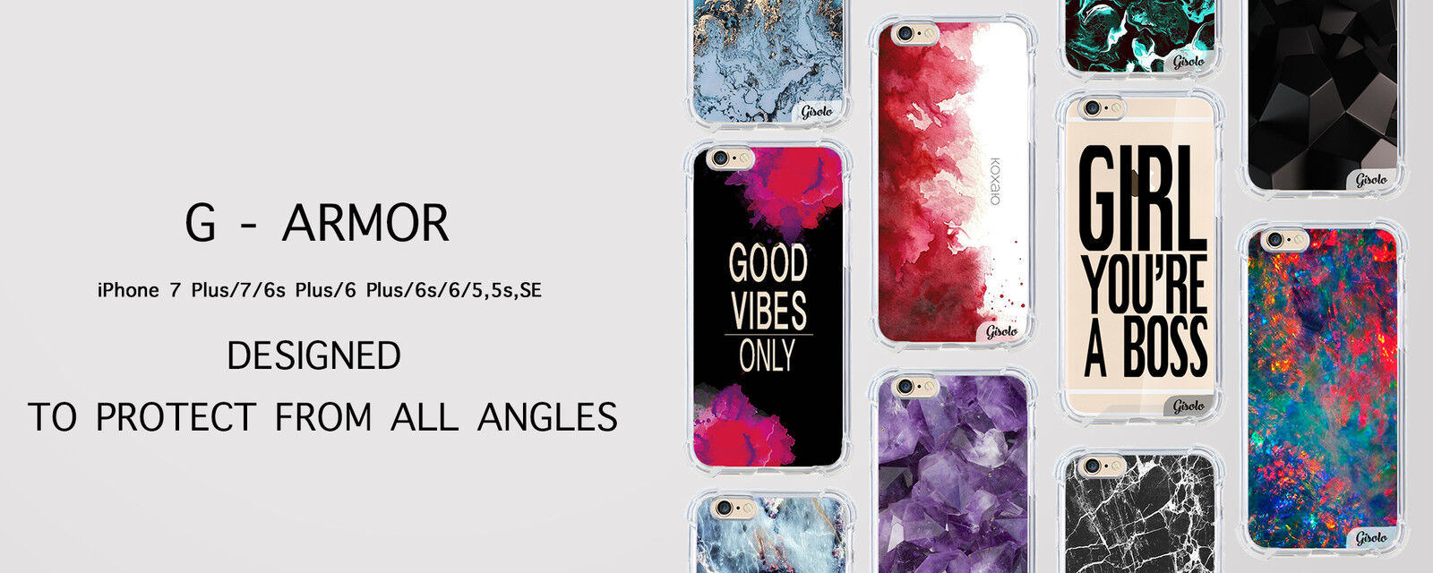 Gisolo - Phone and MacBook cases
