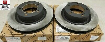 NEW OEM TUNDRA & SEQUOIA FACTORY REPLACEMENT ROTORS LEFT & RIGHT SIDE