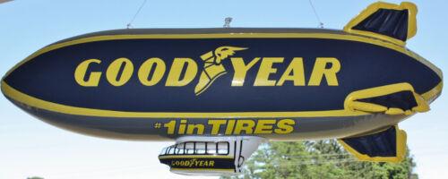 Original Goodyear Dealers Tire Advertising Inflatable Blimp & Blimp Post-its NOS