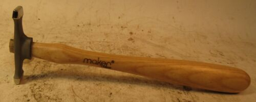 """MAKER #403 JEWELERS HAMMER - 8 3/4"""" LONG OVERALL - MADE IN FRANCE"""