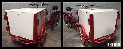 Icicle Tricycle Ice Cream Bike Dark Red
