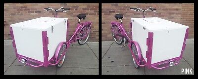 Icicle Tricycle Ice Cream Bike Pink