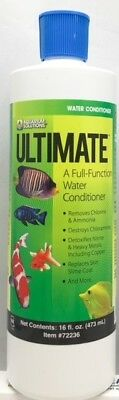 Ultimate Full function water conditioner for koi ponds & larger aquariums