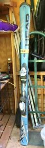 Head XRC skis 149cm with bindings and poles