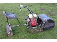 1960's Webb Ride On Mower