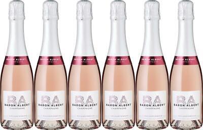 6x Champagner rose Ac brut 0,375 - Champagne Baron Albert, Champagne! Sekt/Qual…