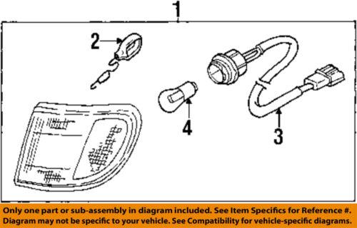 KIA OEM 98-02 Sportage-Signal Lamp Right 0K08A51060B