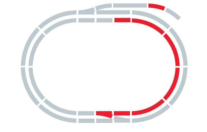 Hornby R8223 OO Track Extension Pack C