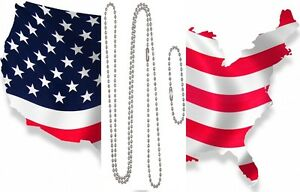 1-Set-Military-Issue-Stainless-Steel-Military-Dog-Tags-Chain-2pc-4-5-27-B