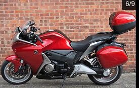 honda vfr 1200 dct full auto , sports mode ot triptronic manuel,