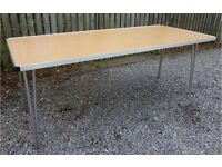 Folding tables – for office, canteen, community hall etc. As new condition.