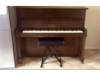 Upright Piano and stool free to good home