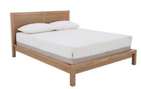 Brand new king size wooden bed!