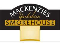 DAY TIME HOURS - Mackenzies Restaurant Waiting Staff Wanted