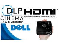 Dell M115HD WXGA mobile HDMI LED DLP Home Cinema Projector VGC
