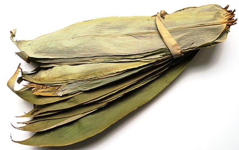 120pcs ++ Dried Bamboo Leaves 12oz for Zongzi Sticky Rice Dumpling 粽子