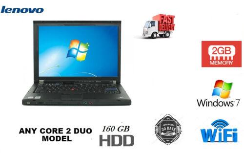 Laptop Windows - CHEAP Lenovo Laptop Windows 7 Intel Core 2 Duo Warranty FAST WIRELESS DVD WIFI