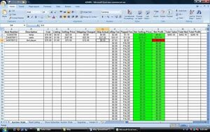 eBay Fee Excel Selling Tool Profit Calculator Program FREE UPDATES