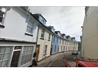 2 Bedroom First Floor Flat. Central Torquay. DG. Gas CH. Free WiFi. Long Let. No Agent's Fees