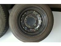 Ford transit / land rover 4 x wide weller wheels