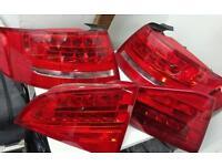 Audi A4 Avant rear LED lights full set genuine