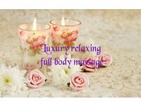 Luxury relaxing full body massage.massage suit your need