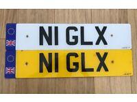 Private Number Plate - NI GLX - N1 GLX -