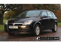 VAUXHALL ASTRA CLUB 1.7 CDTi Black 5 Door Manual Diesel