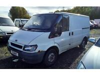MK6 FORD TRANSIT 2.0L ENGINE AND GEARBOX 86K NEW DIESEL PUMP