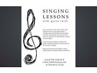 Singing Lessons with Gavin Swift