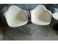2 Vitra Eames DAR Armchairs